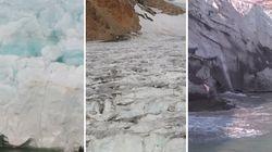 La Groenlandia si sta sciogliendo. Il crollo della parete ghiacciata ripreso dal drone