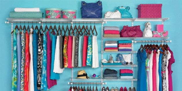 Get organized with expandable, customizable and adjustable HomeFree series⢠Closet Kits that require...