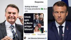 Bolsonaro deride Brigitte Macron. Il presidente francese:
