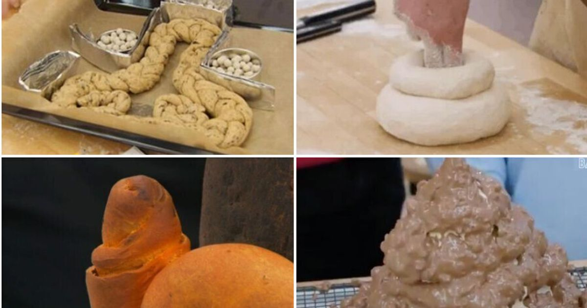 From Penis Loaves To A Giant Meringue Turd, These Are The Rudest Bake Off Creations Ever