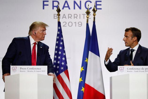De los nervios a la calma: las claves de un moderado G-7 protagonizado por Macron y