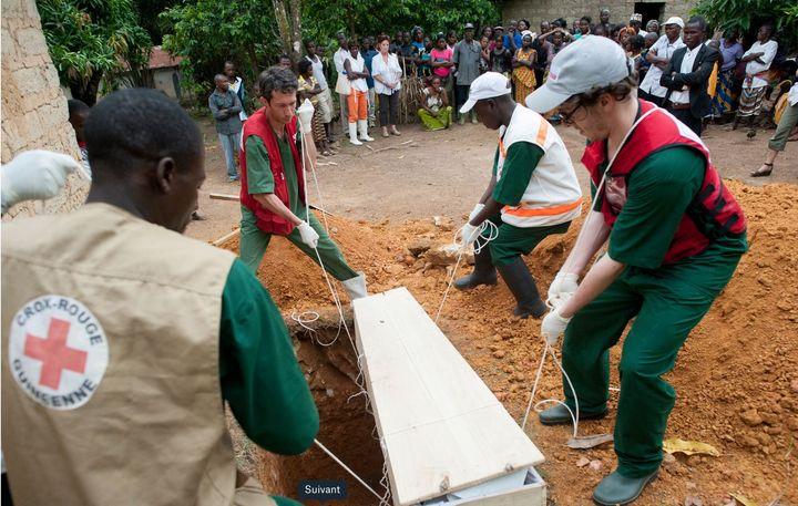 Jean-Baptiste Lacombe confie que la mission la plus difficile à laquelle il a participé est celle contre l'épidémie d'Ebola en Guinée, en 2014. Crédit: Courtoisie