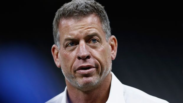 NEW ORLEANS, LA - NOVEMBER 04:  Hall of Fame quarterback and Fox Sports analyst Troy Aikman attends the game between the Los Angeles Rams and the New Orleans Saints at Mercedes-Benz Superdome on November 4, 2018 in New Orleans, Louisiana.  (Photo by Wesley Hitt/Getty Images)