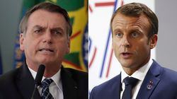 Macron Blasts Brazil President's 'Disrespectful' Comments About His