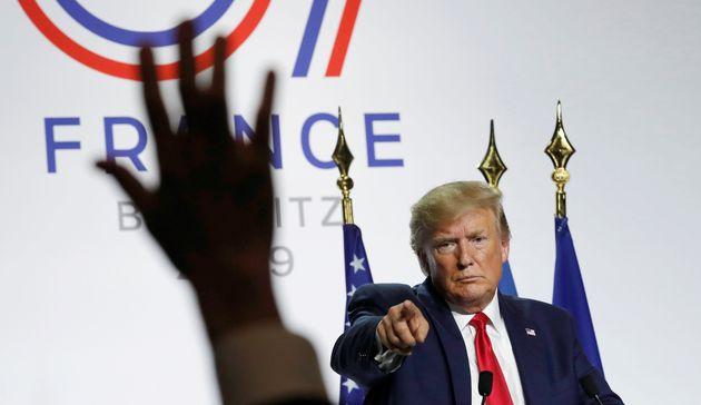 Donald Trump et les États-Unis auront la responsabilité d'organiser le prochain G7, et...