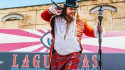El Lagunitas Beer Circus se celebra en