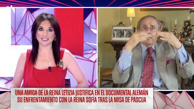 Jaime Peñafiel tras estas palabras sobre Doña Letizia: