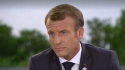 Pour Macron, il n'y a pas eu de violence