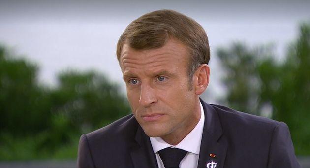 Au journal télévisé de France 2, ce lundi 26 août, Emmanuel Macron est revenu...