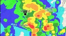 El aeropuerto de Barajas, afectado por la tormenta: retrasos, esperas y variaciones en las