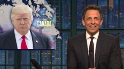 Seth Meyers Can't Believe Trump Is Picking A Fight With