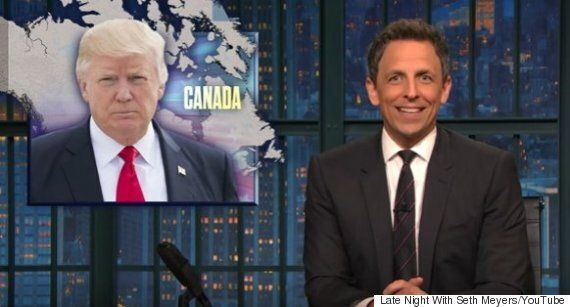 Seth Meyers Can't Believe Donald Trump Is Picking A Fight With