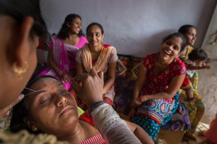 """India's """"parlour didis"""" are often the butt of jokes."""