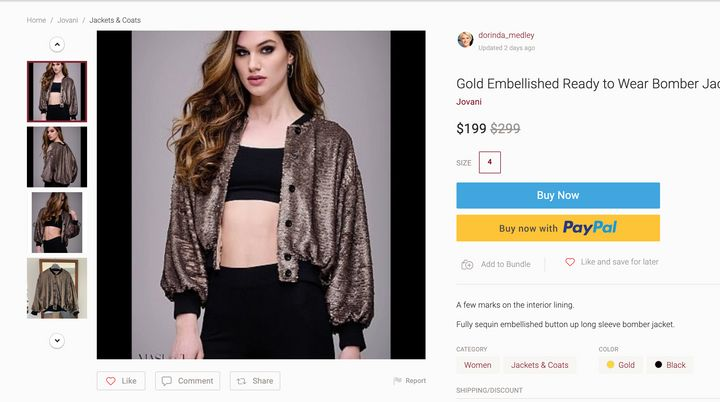 You Can Buy A Jovani Jacket From Dorinda Medley On Poshmark