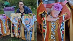 The Story Behind Viral Photo Of Oji-Cree Mother And Her