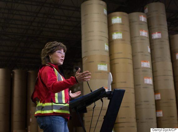 B.C. Premier Christy Clark Hopes To Hit Back At Lumber Tariff With U.S. Coal