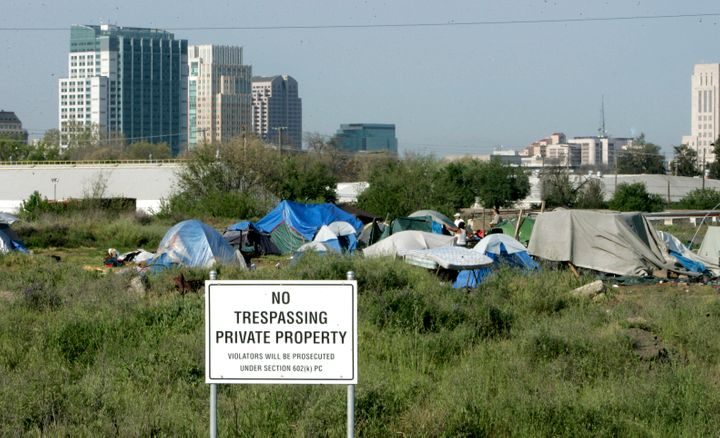 Tent cities in Sacramento have become increasingly common.
