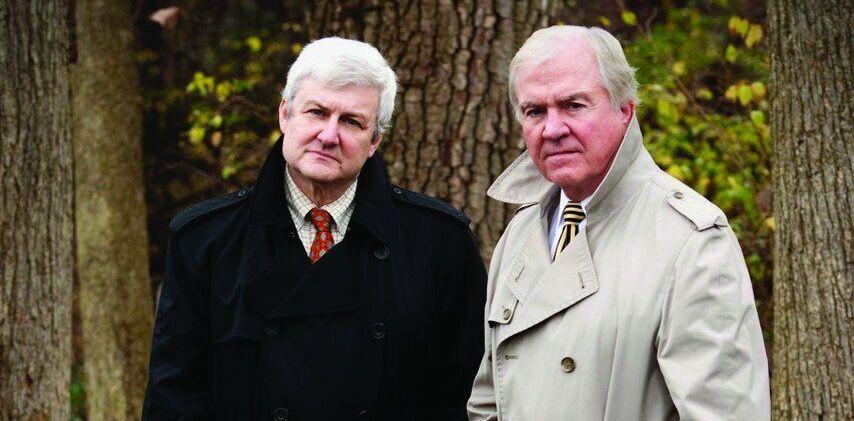 Mark Olshaker e John Douglas, autores deDe frente com o Serial Killer - Novos Casos de
