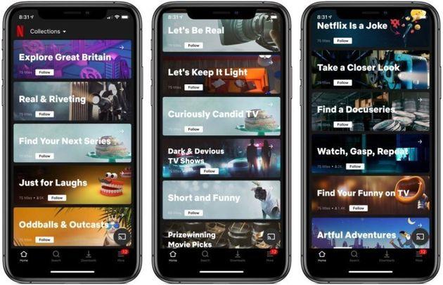 Netflix、新機能「コレクションズ」をテスト中。AIではなく人間が作品をキュレーション