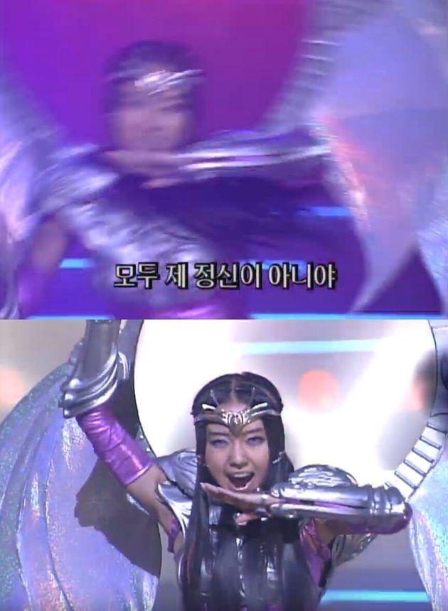 1999년 12월 26일 이정현의 '바꿔' 무대