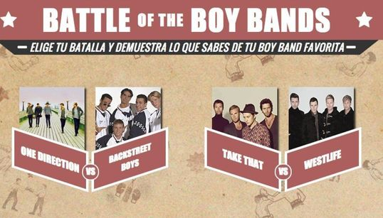 ¿Cuánto sabes de One Direction, Take That o Backstreet