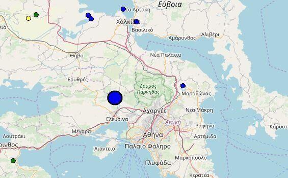 Σεισμός 4 Ρίχτερ κοντά στην