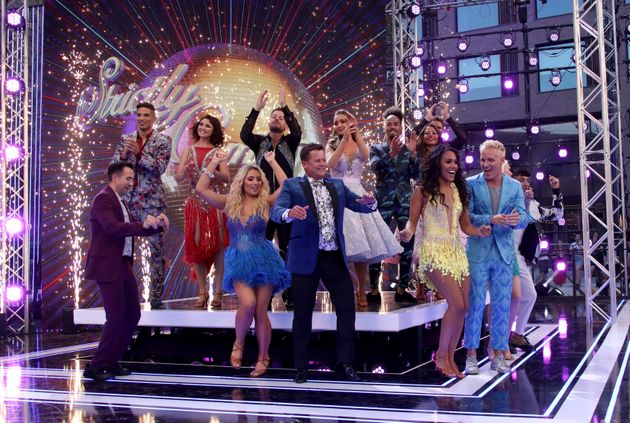 Strictly Come Dancing Contestants Get Their Groove On As They Come Together With Pros And Judges At Official Launch