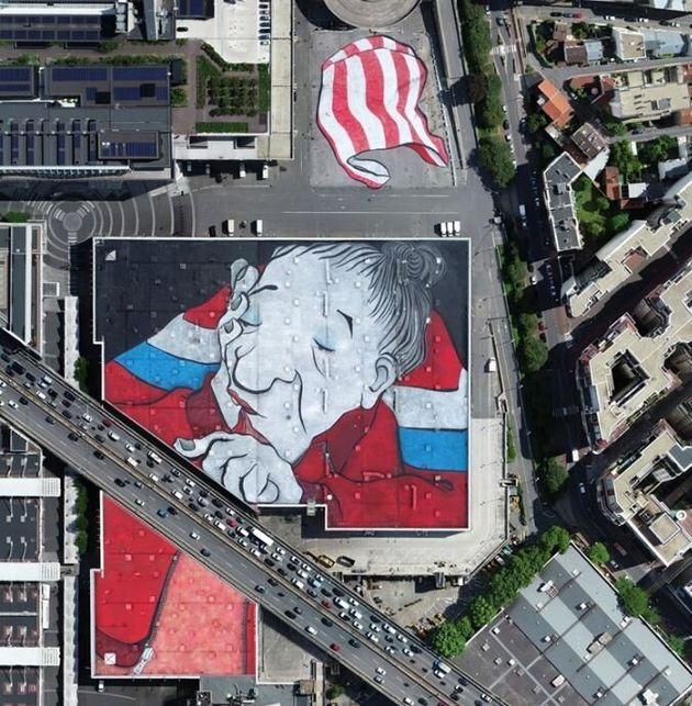Το μεγαλύτερο mural στην Ευρώπη είναι 25.000 τ.μ. και βρίσκεται στο