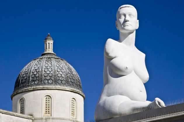 Lapper was the subject of a sculpture by Mark Quinn, which was on Trafalgar Square's Fourth Plinth...