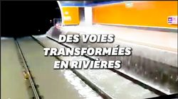 À Madrid, le métro inondé après des pluies