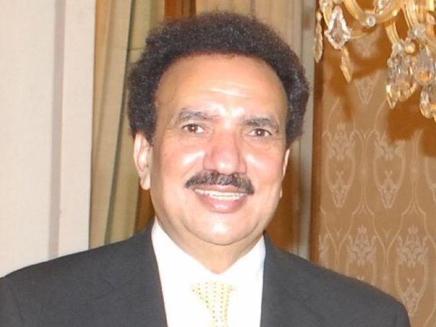 A file photo of Pakistan senator Rehman