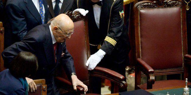 Napolitano asume a sus 87 años un segundo mandato como presidente de Italia y abronca a los