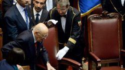 Napolitano, un presidente de 87 años que jura por otros