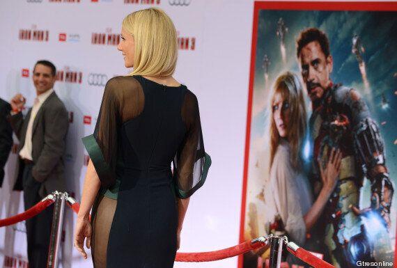 Gwyneth Paltrow se viste de superheroína en el estreno de Iron Man 3