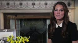 El primer vídeo-mensaje de Kate Middleton