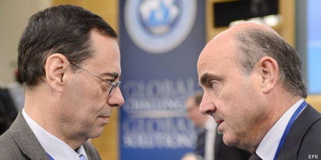 El ministro de Economía, Luis de Guindos, asegura que España preocupa menos ahora que hace un