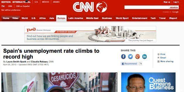 Los datos del desempleo vistos por los medios internacionales: Récord y colas en el