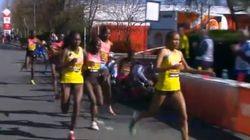 Atropello entre atletas en el maratón de Londres