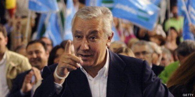 Javier Arenas, en una imagen de