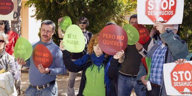 Una juez de Madrid para un desahucio hasta que acabe el curso de los
