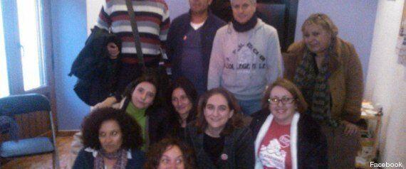 Desahuciadas, militantes del PP e indignadas con Cospedal: