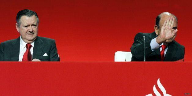 El Banco Santander gana 1.205 millones en el primer trimestre del 2013, un 26%
