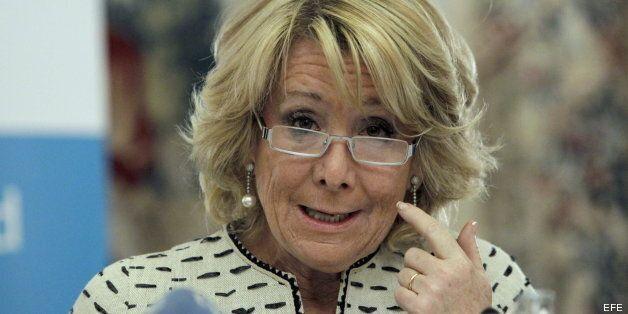 Esperanza Aguirre afirma que España está