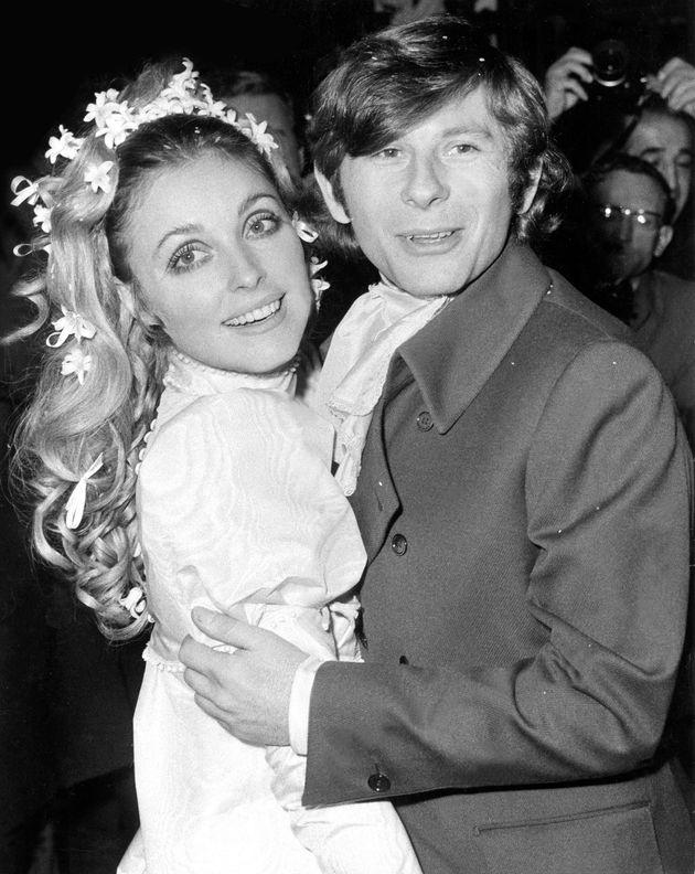 Sharon Tate y Roman Polanski, el día de su boda en