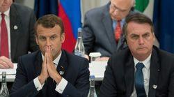 Bolsonaro prêt à accepter de l'aide contre les incendies en Amazonie... si Macron