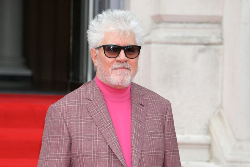 LONDON, ENGLAND - AUGUST 08: Pedro Almodovar attends the opening night of Film4 Summer Screen at Somerset...