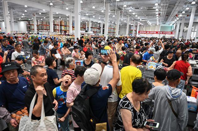Les Chinois se ruent vers le premier Costco du