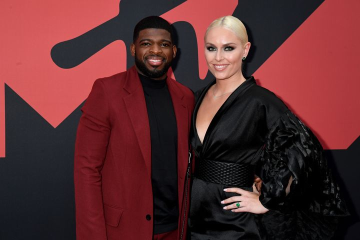 P.K. Subban and Lindsey Vonn recently announced their engagement. (Do you see that ring?)