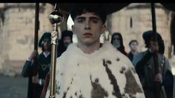 Les premières images de Timothée Chalamet incarnant le roi Henry V dans