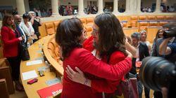 Concha Andreu, nueva presidenta de La Rioja gracias al apoyo de